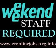 Urgent Part-time / Full-time staff Required.