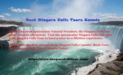 Best Niagara Falls Tours Canada