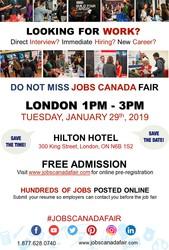 London Job Fair January 29